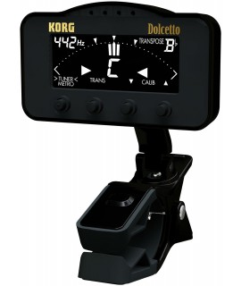 KORG CLIP ON TUNER METRONOME FOR ORCHESTRAL INST.