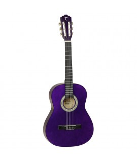 Tanglewood Discovery Classical Spruce Top 3/4 size trans purple