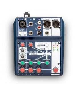 SOUNDCRAFT1-MONO 2-STEREO MIXER WITH USB I/O