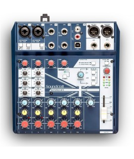 SOUNDCRAFT 2-MONO 3-STEREO MIXER With USB I/O and  FX