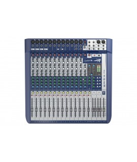 SOUNDCRAFT 10 MONO 2 STEREO 1 USB ANALOG CONSOLE